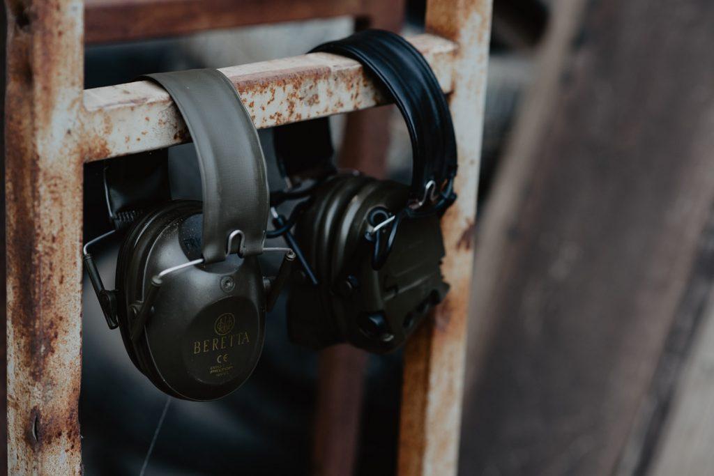 photo Beretta headphones