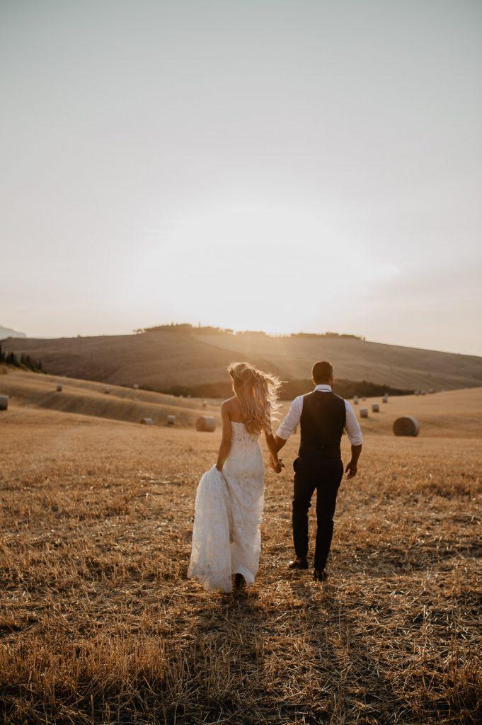 wedding destination photographer Val d'Orcia Tuscany