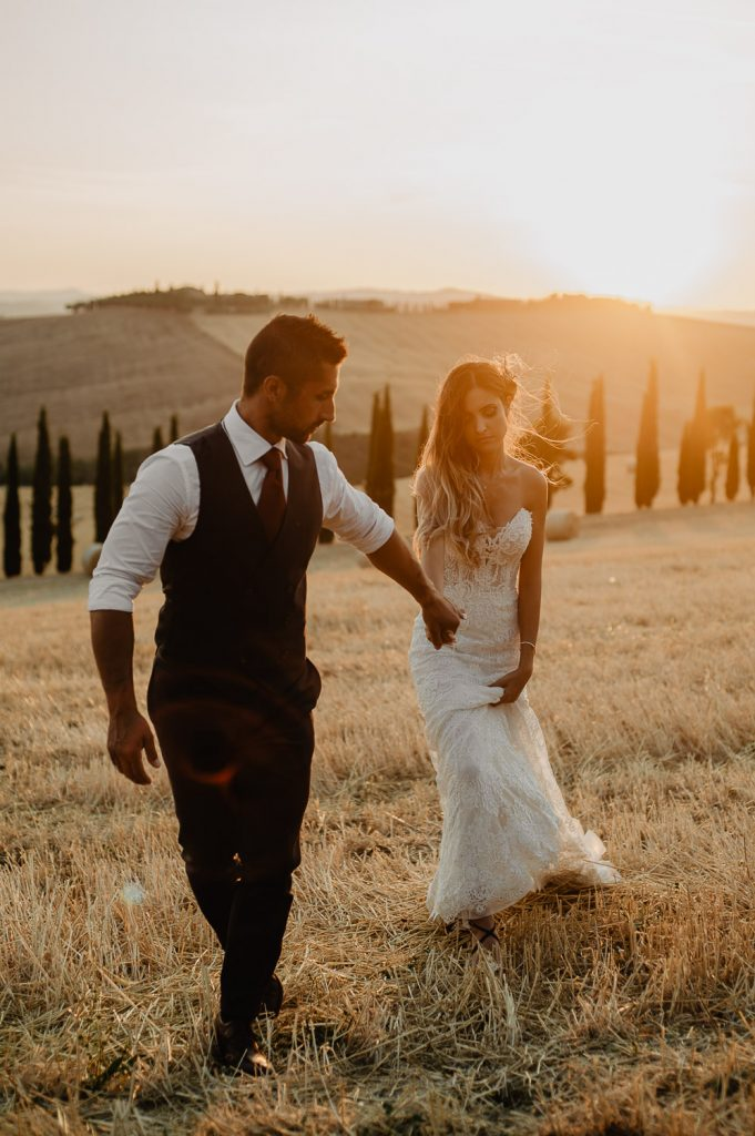 elopement photographer in Tuscany
