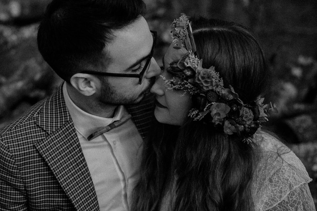 unconventional elopement photographer in italy
