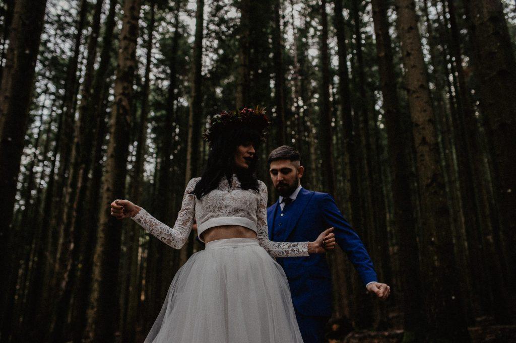 unconventional wedding photographer Italy