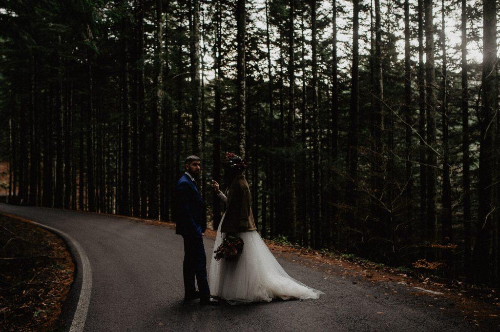 untraditional wedding photography Italy