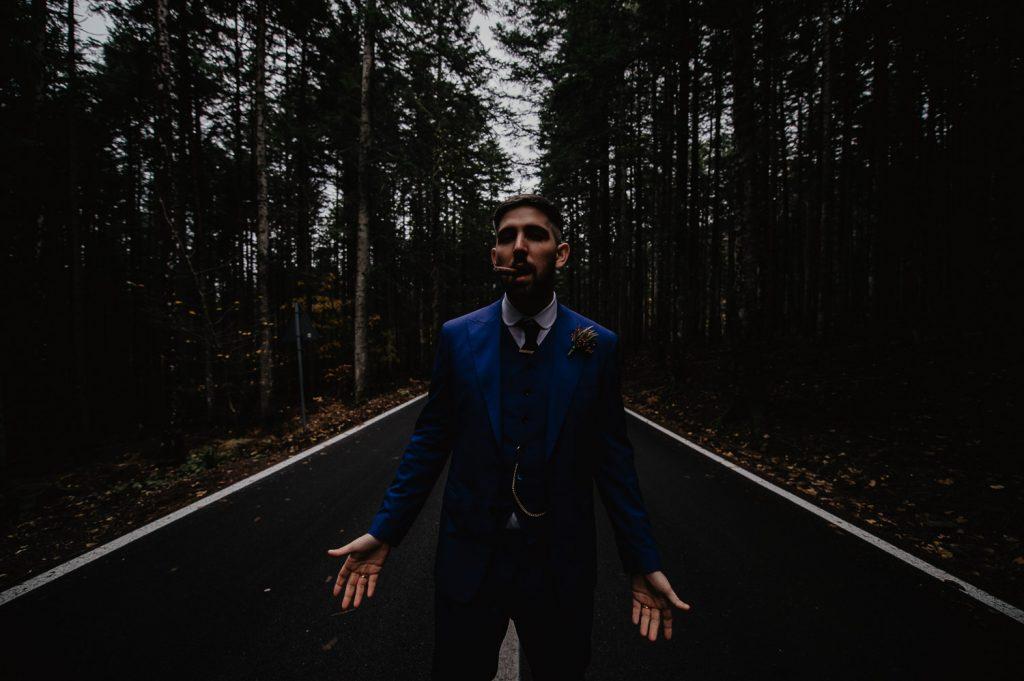 fotografo matrimonio dark italia