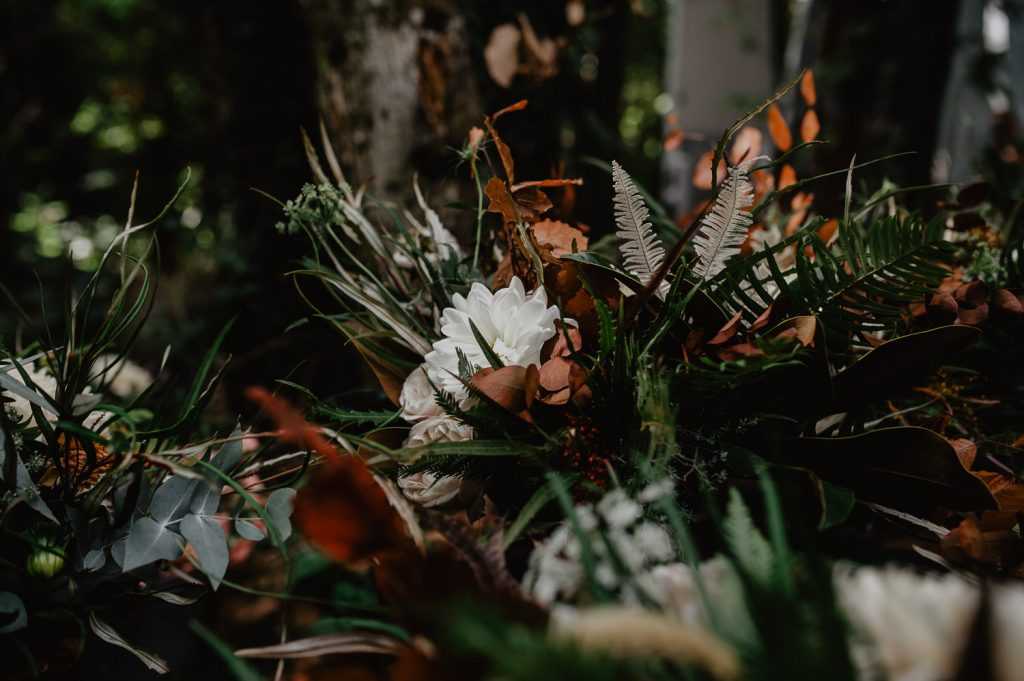 autumn flowers bouquet wedding