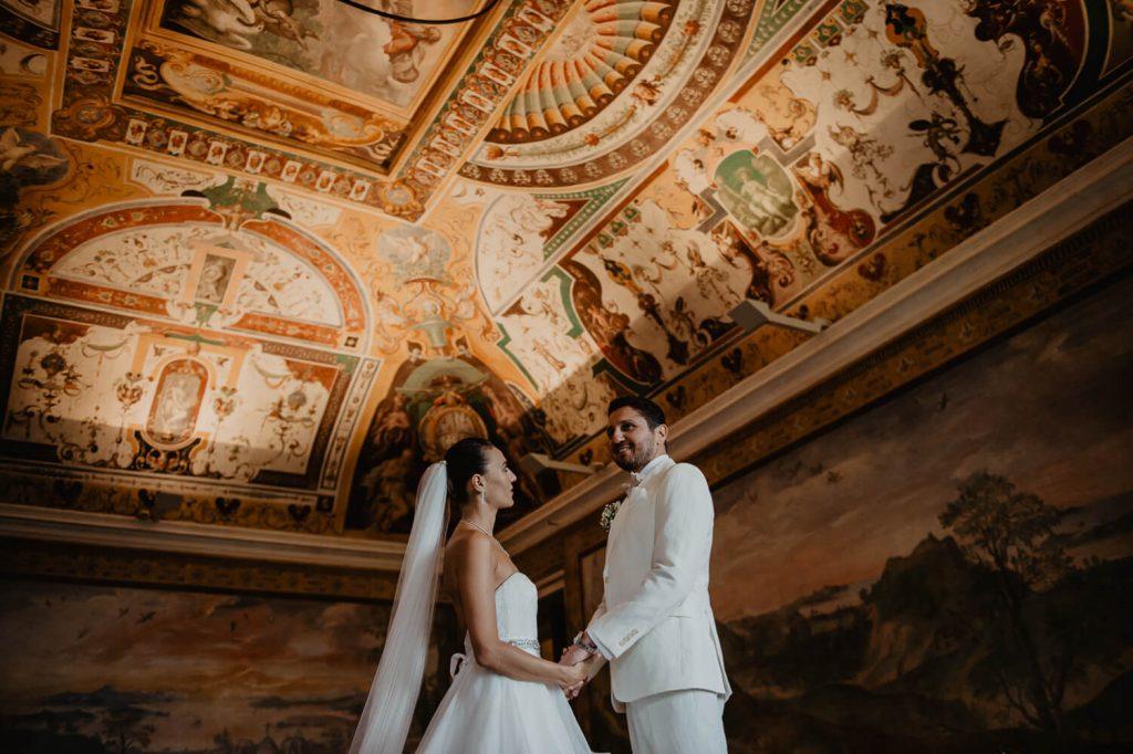 nozze stranieri villa d'este Tivoli
